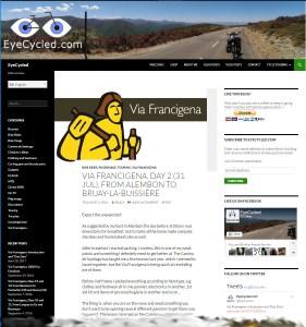 Via Francigena Post from 2nd August 2016