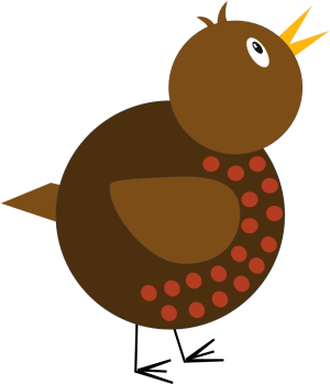 shapes simple robin whimsical drawing clip tutorial clipart using lines inkscape vector bird cliparts drawings draw whimsy christmas line easy