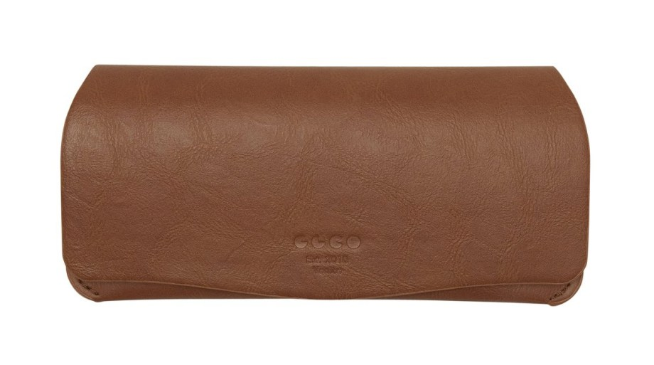 Garrett Leight Brown soft case
