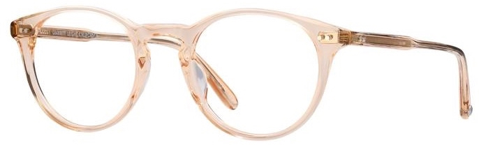 Garrett Leight Winward_44_Pink_Crystal side
