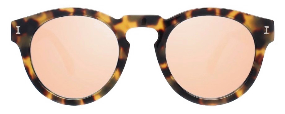 Illesteva-Leonard-Tortoise-with-Rose-Mirrored-lenses