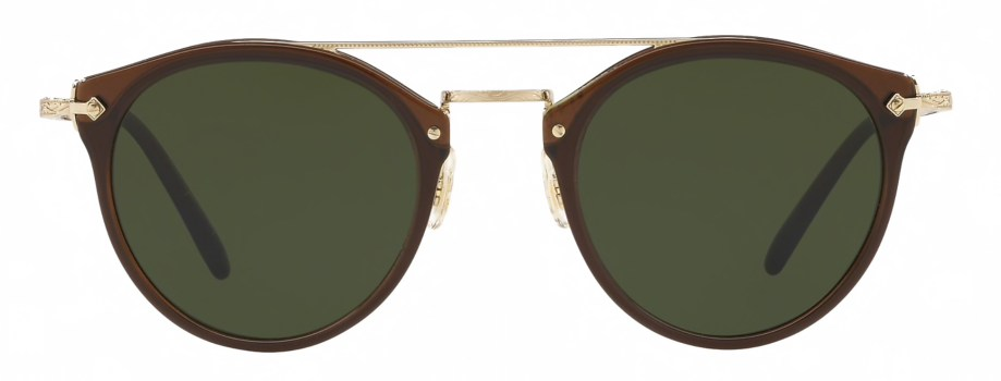 Oliver Peoples REMICK Expresso Gold Dark Green