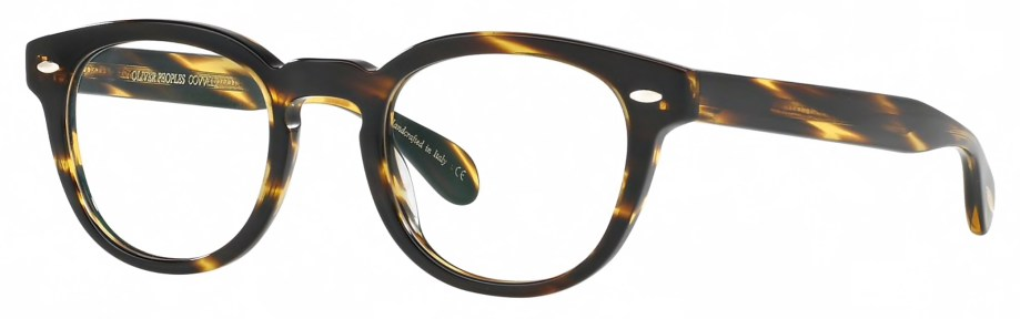 Oliver Peoples SHELDRAKE Cocobolo 3_4 side