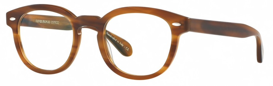 Oliver Peoples SHELDRAKE Semi-Matte Raintree 3_4 side
