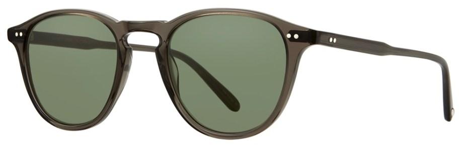 Sunglasses Garrett Leight HAMPTON Black Glass Hampton-46-Black-Glass-Semi-Flat-Pure-G15_2001-46-BLGL-SFPG15_v2_1296x