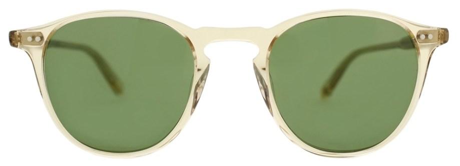 Sunglasses Garrett Leight HAMPTON Champagne Hampton_46_Champagne-Pure_Green_2001-46-CH-PGN_1296x
