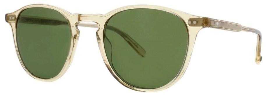 Sunglasses Garrett Leight HAMPTON Champagne Hampton_46_Champagne-Pure_Green_2001-46-CH-PGNv2_1296x