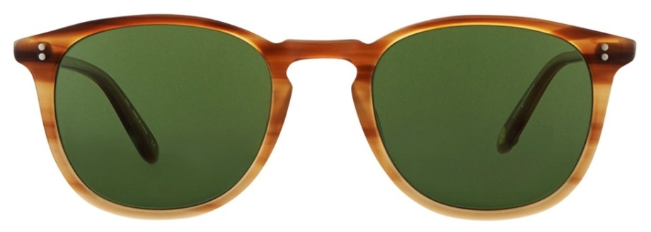 Sunglasses Garrett Leight KINNEY Blonde Tortoise Kinney_49_Blonde_Tortoise_Fade-Pure_Green_2007-49-BTF_PGN-1_1296x