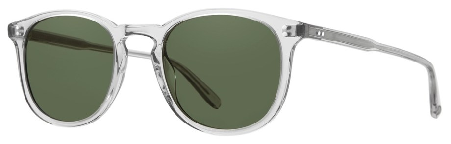 Sunglasses Garrett Leight KINNEY LLG Kinney-49-LLG-Semi-Flat-Pure-G15_2007-49-LLG-SFPG15_v2_1296x