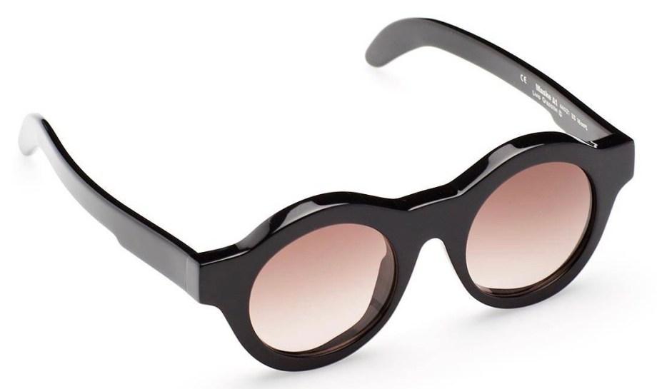 SunglassesKuboraum A1 Black Shine – BS top