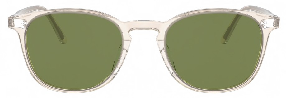 Sunglasses Oliver Peoples FINLEY VINTAGE – Buff _ Green C
