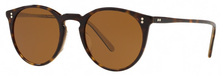 Sunglasses Oliver Peoples O'MALLEY – 362 – Horn – Brown 3_4 side
