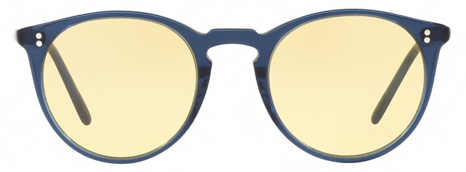 Sunglasses Oliver Peoples O'MALLEY – Bright Navy – Yellow
