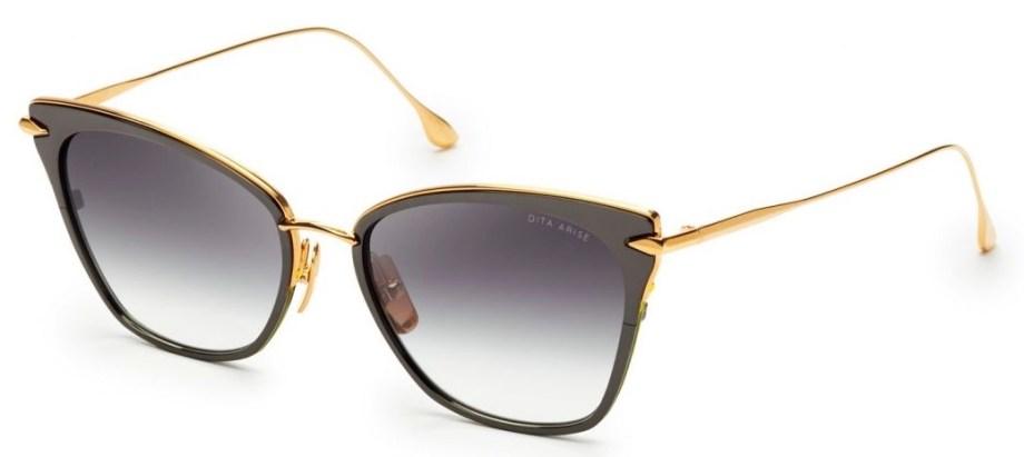 dita arise black yellow sunglasses 3:4 side