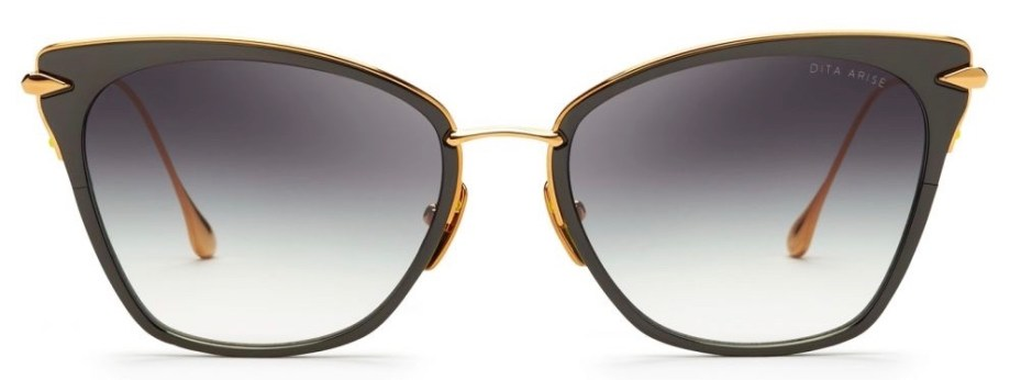 dita arise black yellow sunglasses