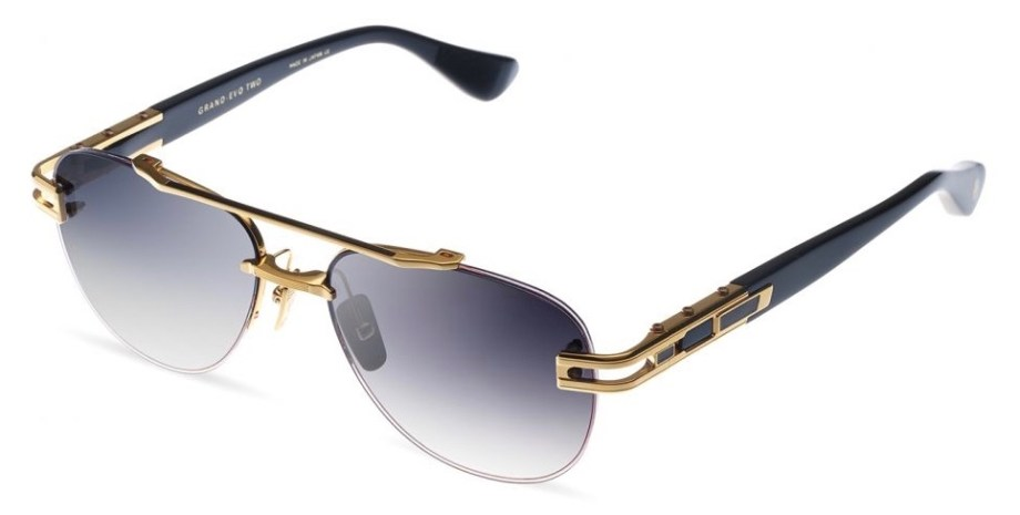 dita grand evo two yellow gold black 3:4 side