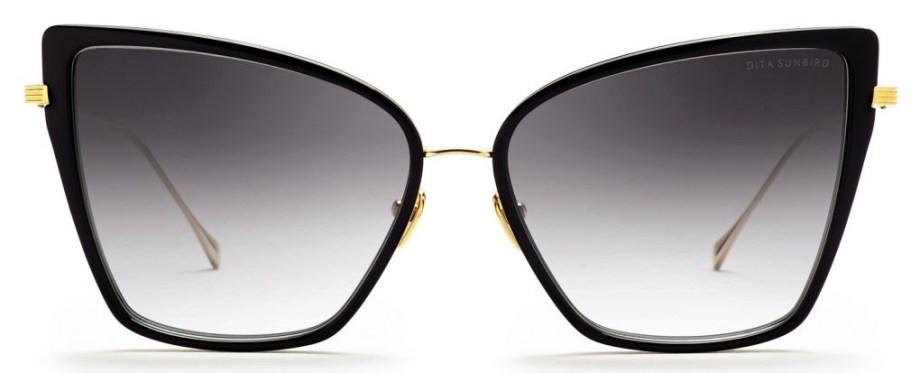 dita sunbird black gold sunglasses