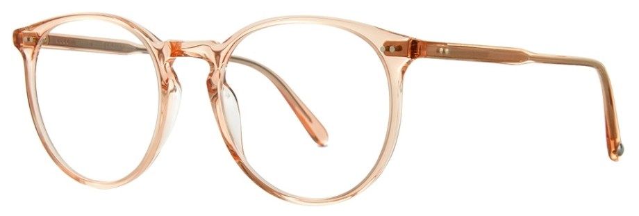 garrett leight Morningside_51_Pink_Crystal side