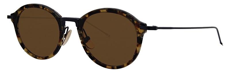 lunettes-de-soleil-thom_browne-tbs 908 tortoise 3:4 side