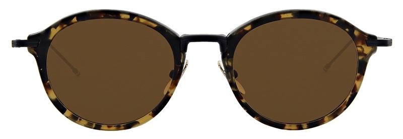 lunettes-de-soleil-thom_browne-tbs 908 tortoise