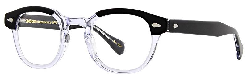 lunettes-de-vue-moscot-lemtosh black crystal 3_4 side