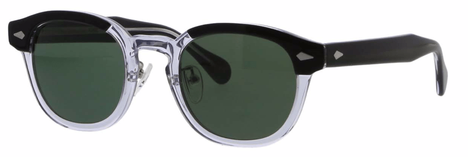 moscot lemtosh sun black crystal 3:4 side