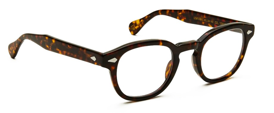 moscot lemtosh tortoise side