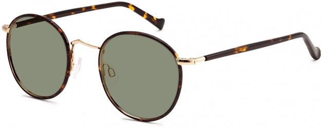 moscot zev sun tortoise gold side