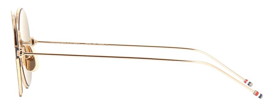 thom-browne-eyewear-tbs915-white gold black-sunglasses side