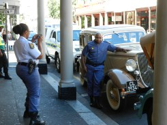 Event the local police feel like tourists on Long Street, Cape Town
