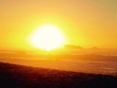 A phenomenal sunset