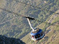 The Table Mountain cable car
