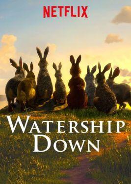 Poster Netflix serie Watership Down