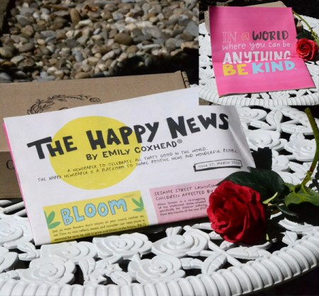 The Happy Newspaper The Happy News by Emily Coxhead