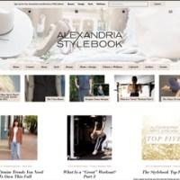 Alexandria Stylebook - Alexandria, VA Website Design for Fashion, Fitness, Home, and Lifestyle Blog