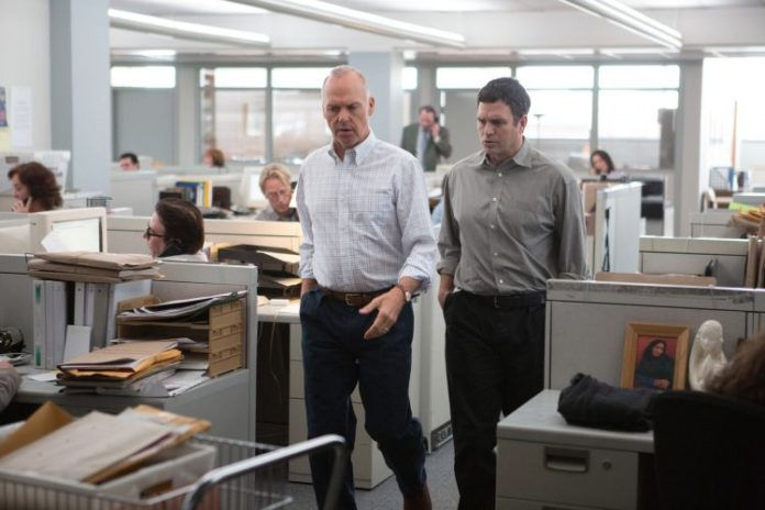 Spotlight - Mark Ruffalo a Michael Keaton