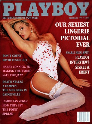 381154 10: Actress Pamela Anderson poses on the cover of Playboy magazine (February 1991 issue). (Photo courtesy of Playboy/Delivered by Online USA)