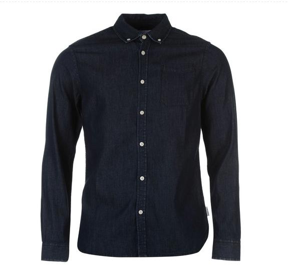 Černá denimová košile Soviet Smart Shirt, 660 Kč