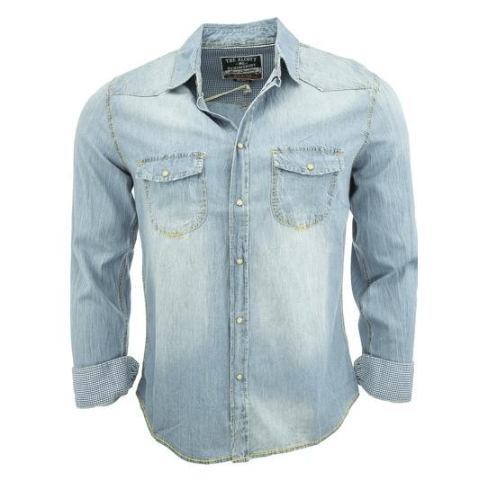 Denimová košile Alcott, 809 Kč