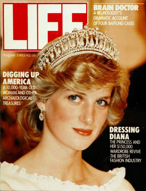 LONDON - AUGUST 01:   Diana, Princess of Wales appears on the cover of Life Magazine on August 01, 1983 in London, England. (Photo by Anwar Hussein/Getty Images)