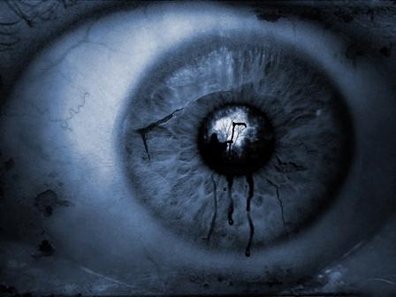 death in an eye
