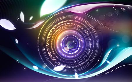 graphic eye logo