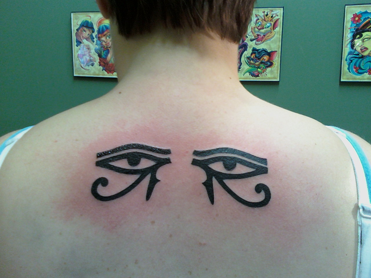 iconic eye tattoos