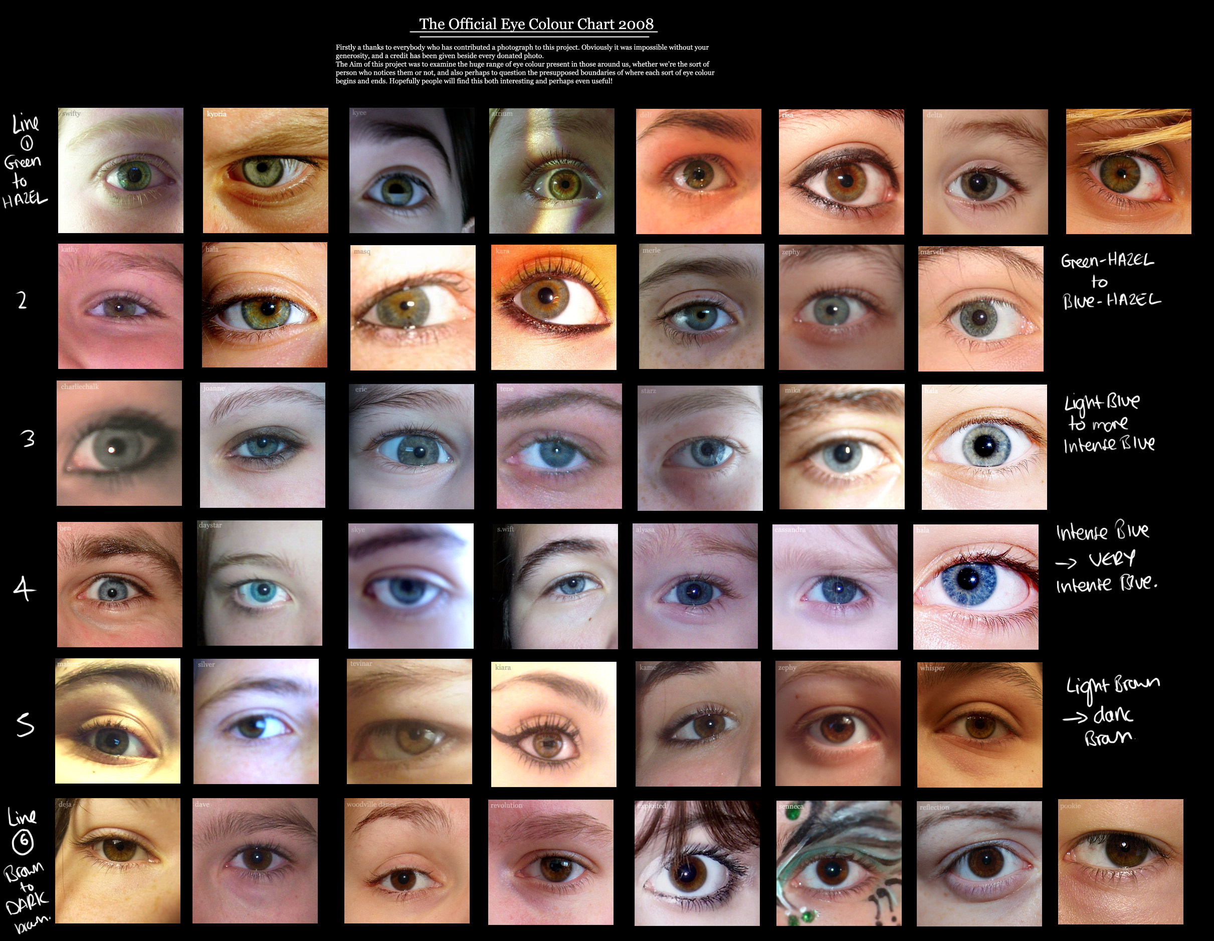Human eye colour chart by delpigeon the eye sight nvjuhfo Image collections