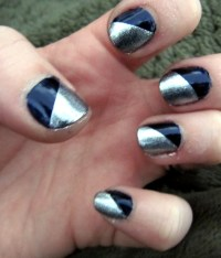 Nail Designs using tape