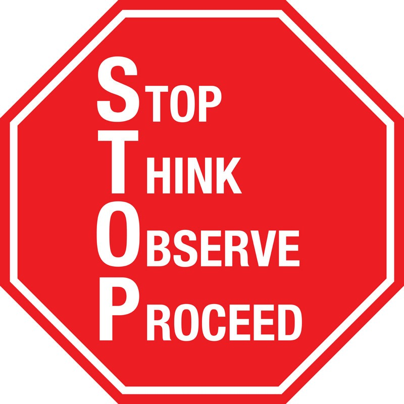 Stop Sign S.T.O.P. - 15 things fetishists should stop doing