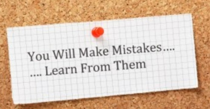 1358913 74da502f18d11572813d1fcd64526a7b 692x360 - Learning from my mistakes.