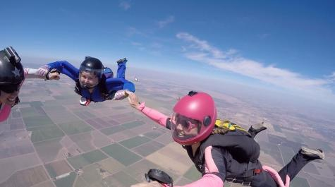 New long-term substitute skydives into RHS