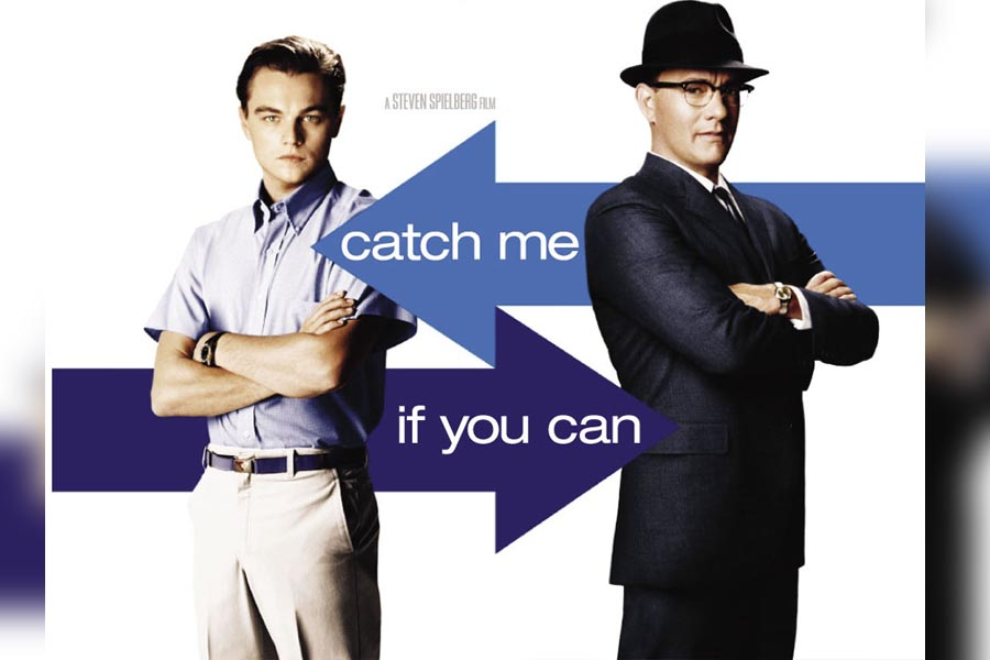 MOVIE OF THE WEEK: Spielberg and Hanks bring a true story to life with Catch Me If You Can