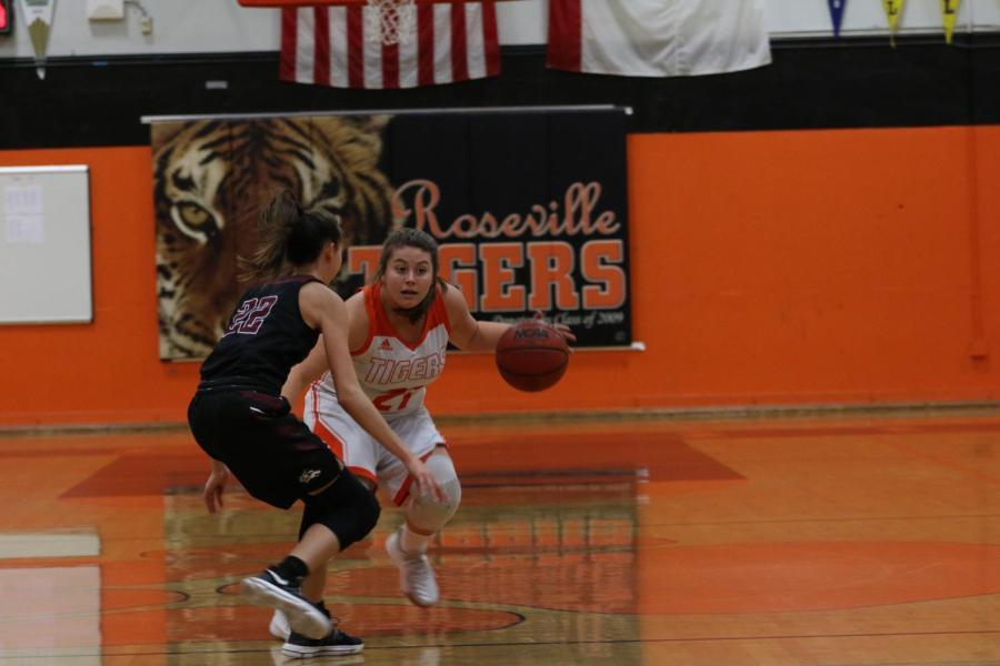 Girls basketball defeats Ponderosa, looks toward second half of season